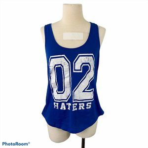 4/$30 🌿ARDENE Blue Haters Distressed Tank Top